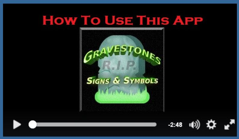 Gravestones Signs