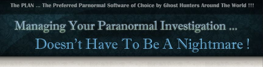paranormal investigations and ghost hunting software